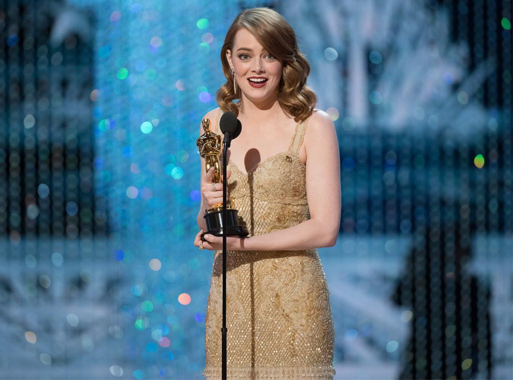 Emma Stone, 2017 Oscars