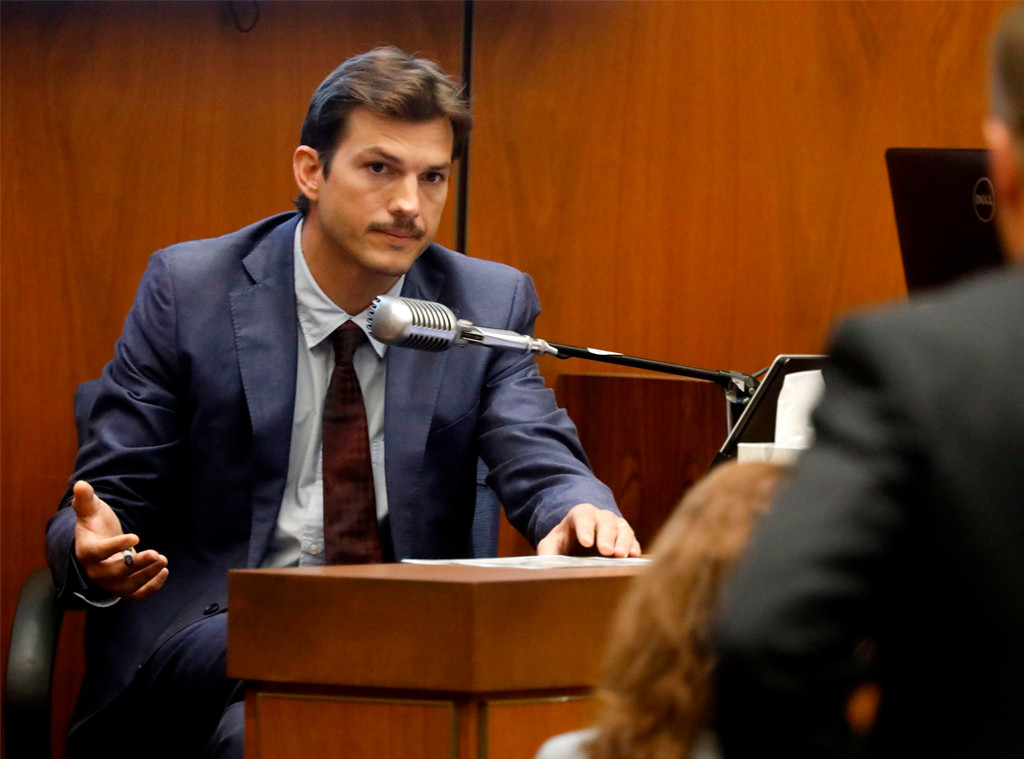 Ashton Kutcher Testifies Against Suspected Serial Killer ... Ashton Kutcher