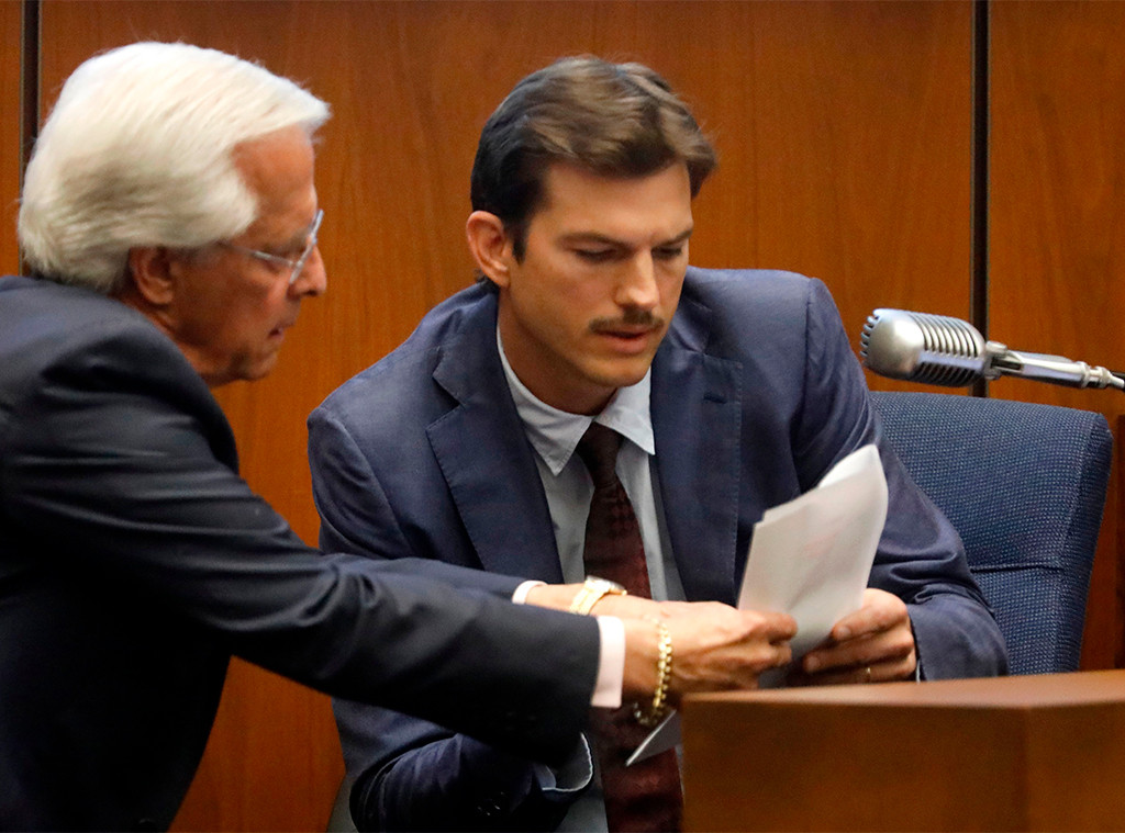 Ashton Kutcher, Court
