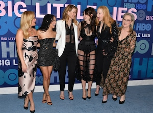Reese Witherspoon, Zoe Kravitz, Laura Dern, Shailene Woodley, Nicole Kidman, Meryl Streep, Big Little Lies Season 2 Premiere