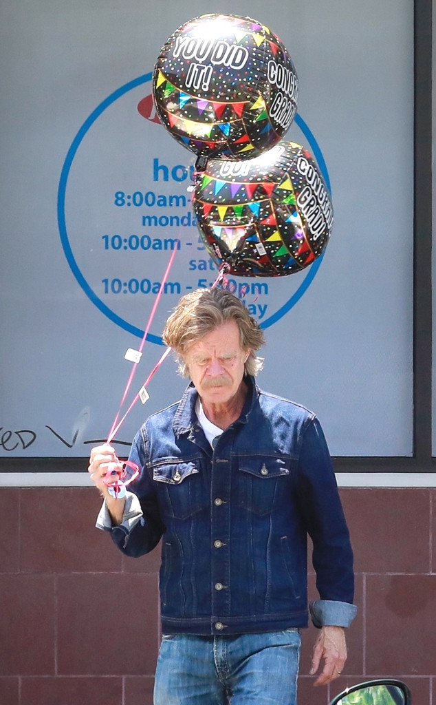 William H. Macy Prepares for Daughter's High School Graduation Amid College Admission Scandal