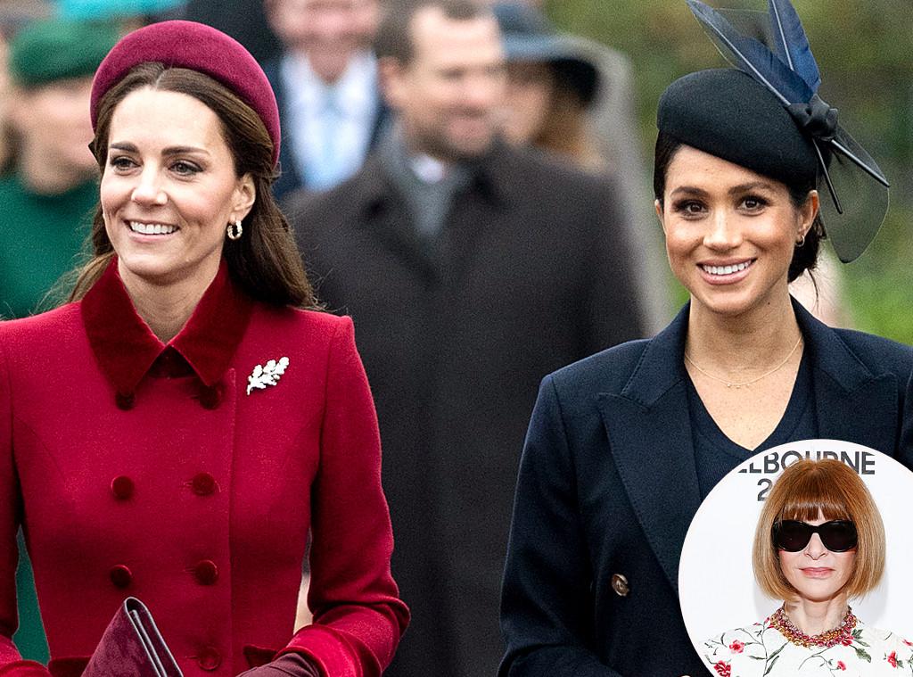 Meghan Markle, Kate Middleton, Anna Wintour