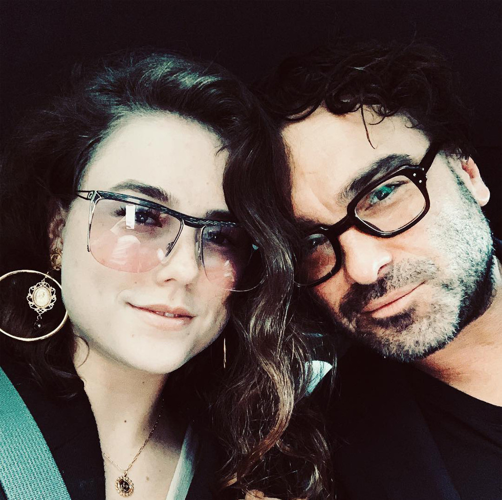 Alaina Meyer, Johnny Galecki