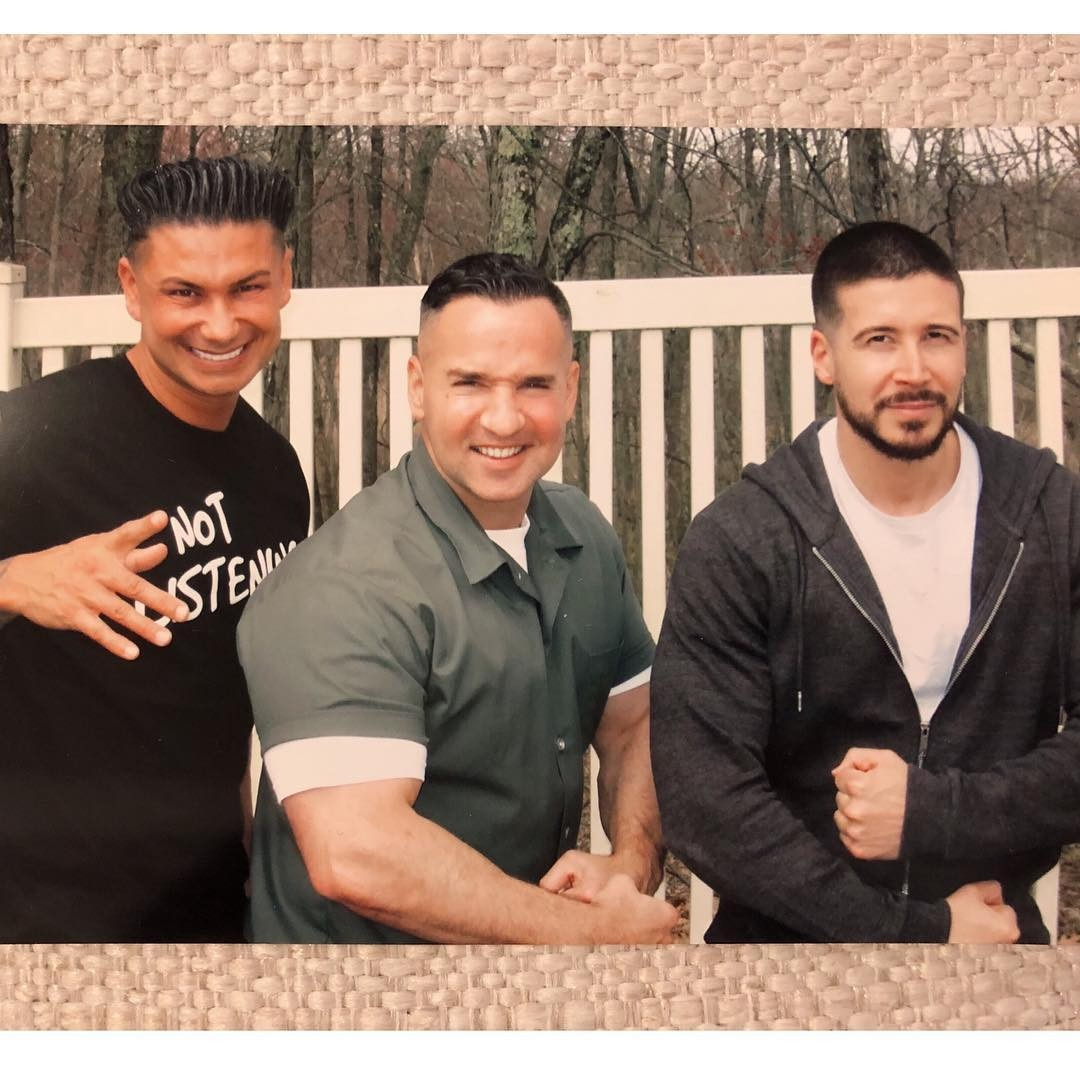 A visit from friends -  Vinny Guadagnino and DJ Pauly D visit their friend in May. Vinny and Pauly D shared some details in April with Jenny McCarthy about how Mike was handling everything.