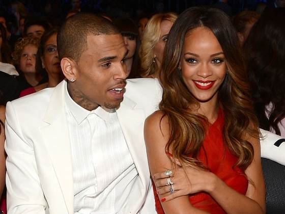 Chris Brown Is Thirsting Over Rihanna's Sexy Lingerie Photo