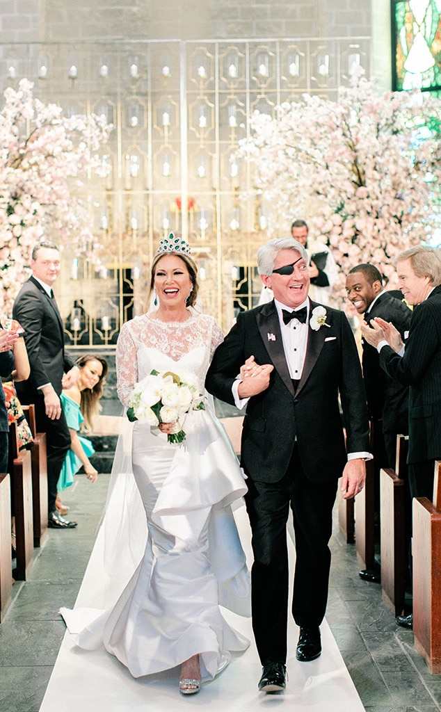 """LeeAnne Locken & Rich Emberlin -  The  Real Housewives of Dallas  star exchanged vows and said """"I Do"""" toher longtime love in April."""