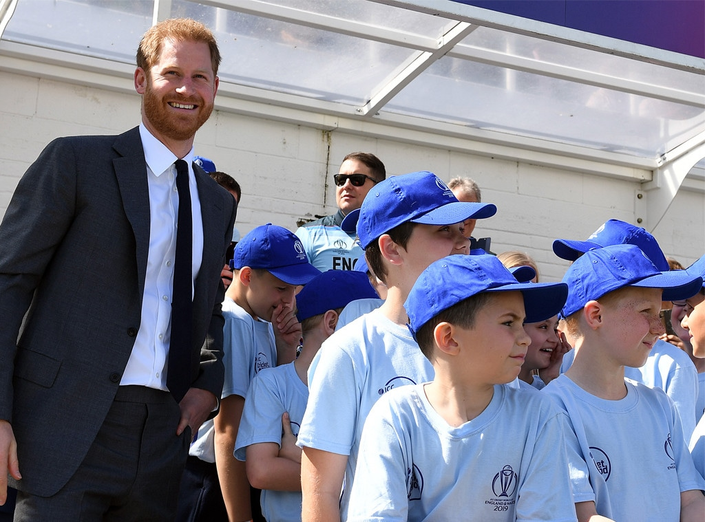 Prince Harry, Cricket World Cup