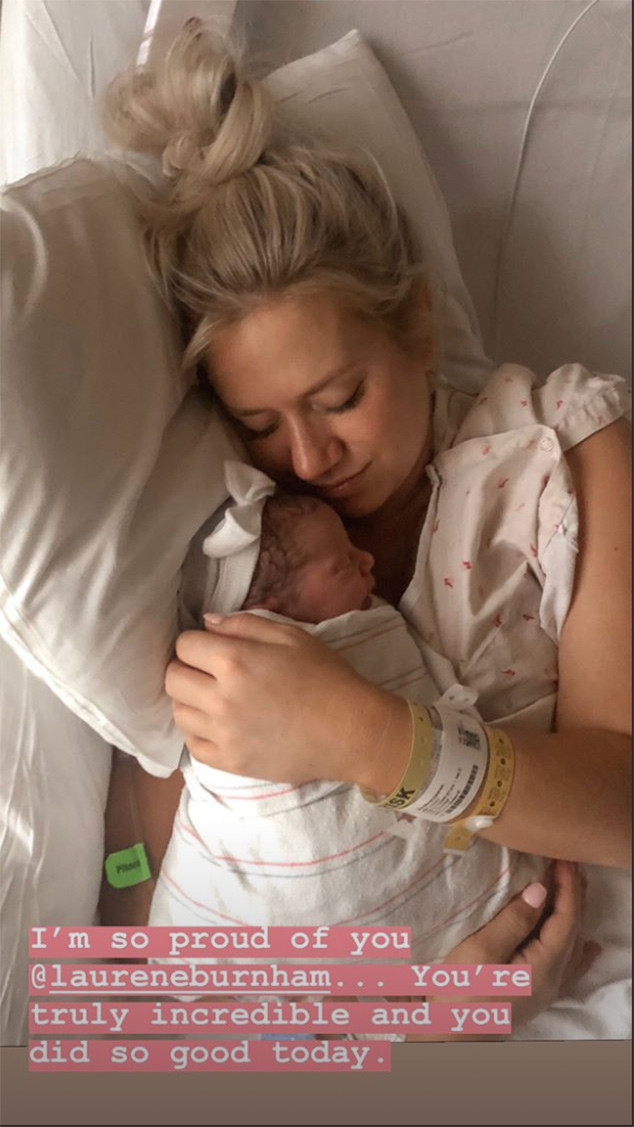 Arie Luyendyk Jr, Lauren Burnham, Baby