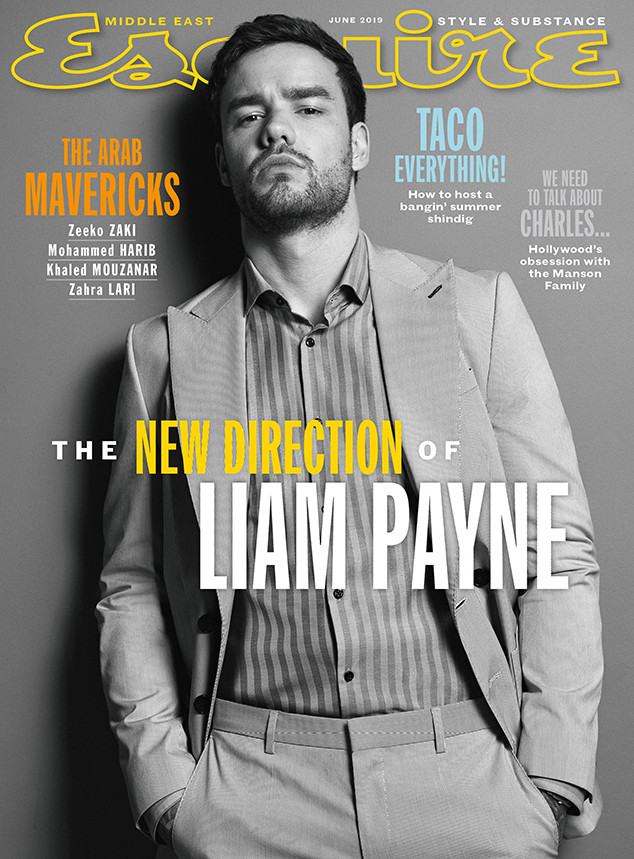 Liam Payne, June 2019, Esquire Middle East