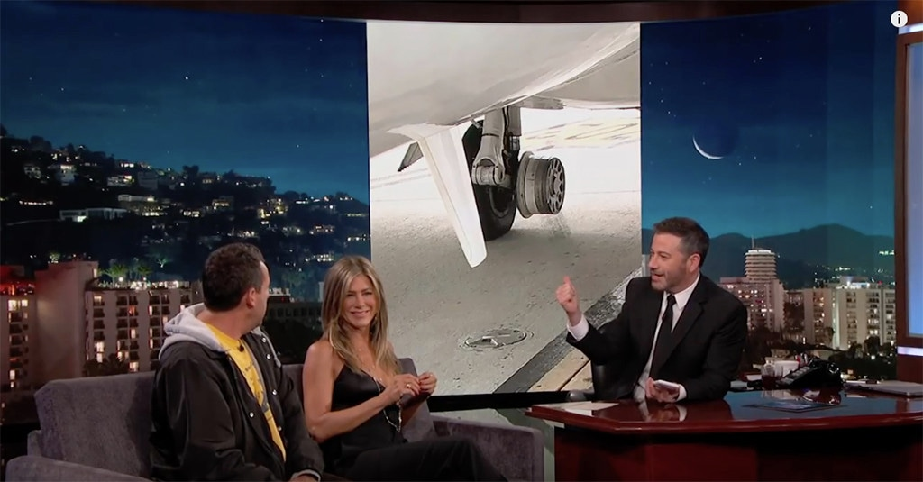 Jennifer Aniston, Jimmy Kimmel, Jimmy Kimmel Live!