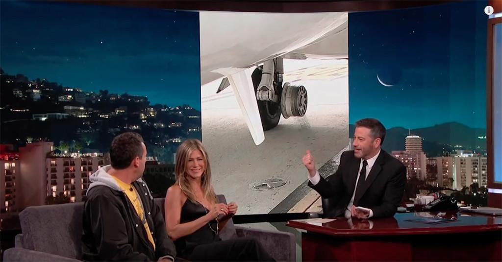 Jennifer Aniston, Jimmy Kimmel, Jimmy Kimmel Live!