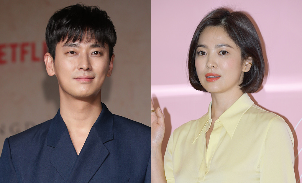 Image result for image of Song Hye-Kyo & Joo Ji-Hoon