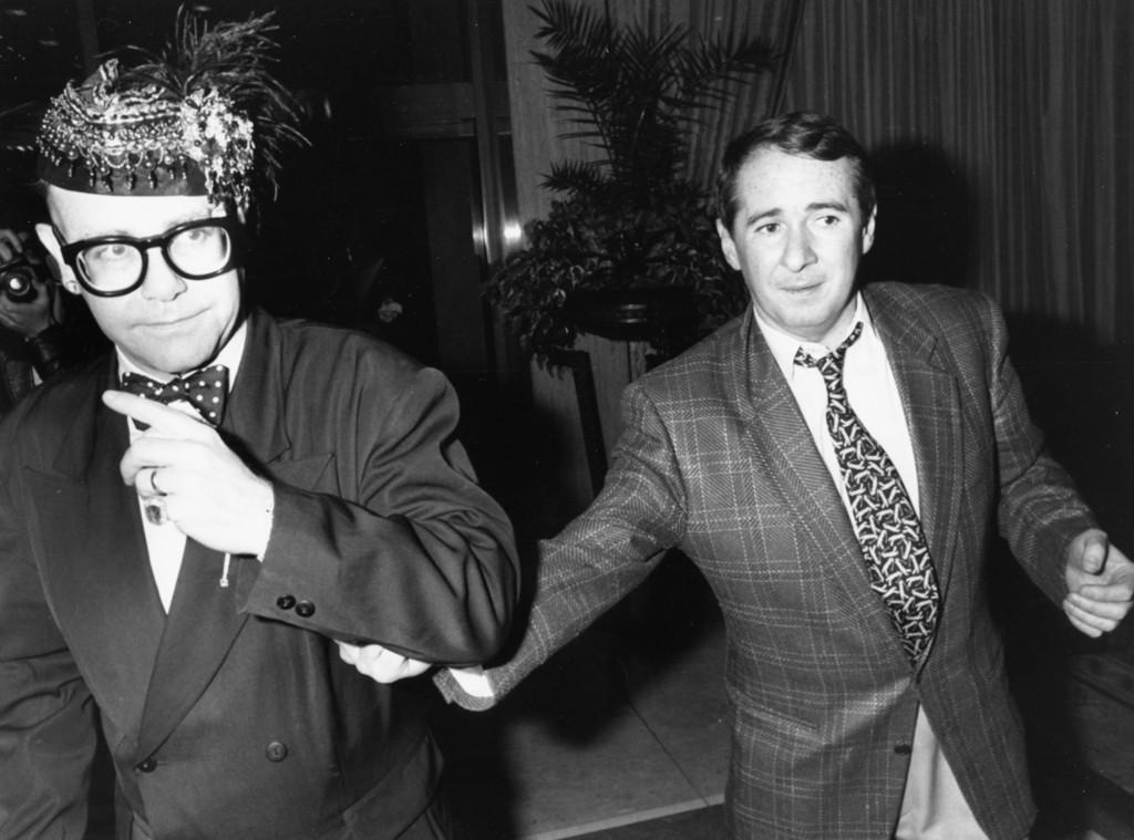Elton John, John Reid, 1988