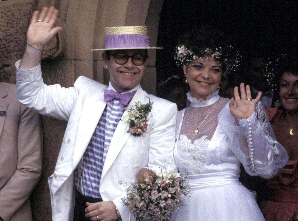 Elton John, Renate Blauel, 1984