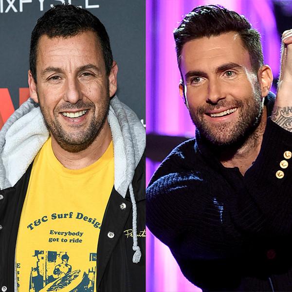 Adam Sandler, Maroon 5, Adam Levine