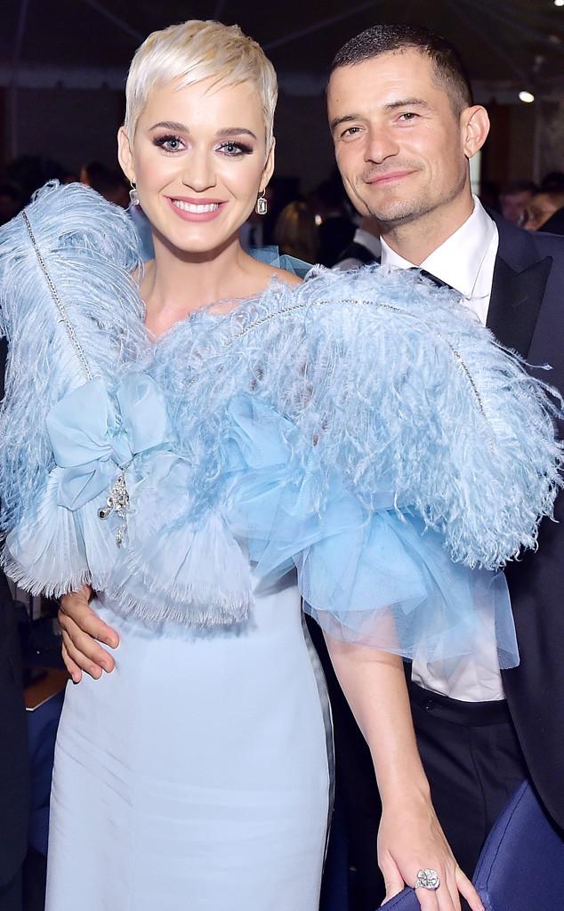 Katy Perry, Orlando Bloom, amfAr Gala