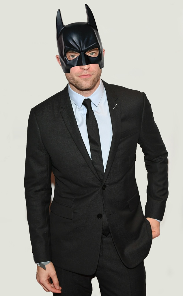 Robert Pattinson, Batman Mask