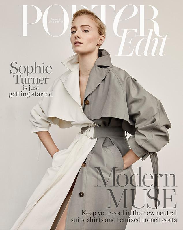 Sophie Turner, PorterEdit, Net-a-Porter