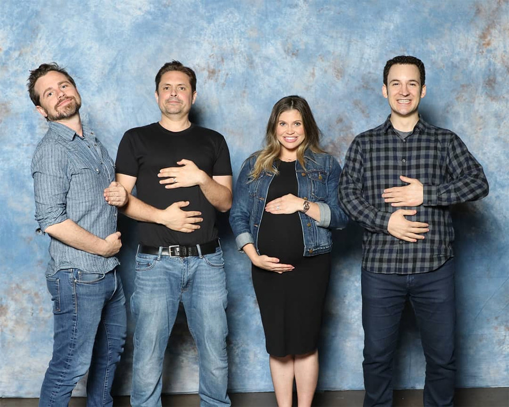 Danielle Fishel, Pregnant, Ben Savage, Rider Strong, Will Friedle, Boy Meets World, Reunion, Dallas Fan Expo 2019