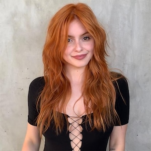 Ariel Winter, Red Hair