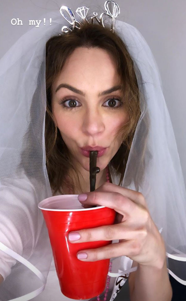 Katharine McPhee, Bachelorette Party