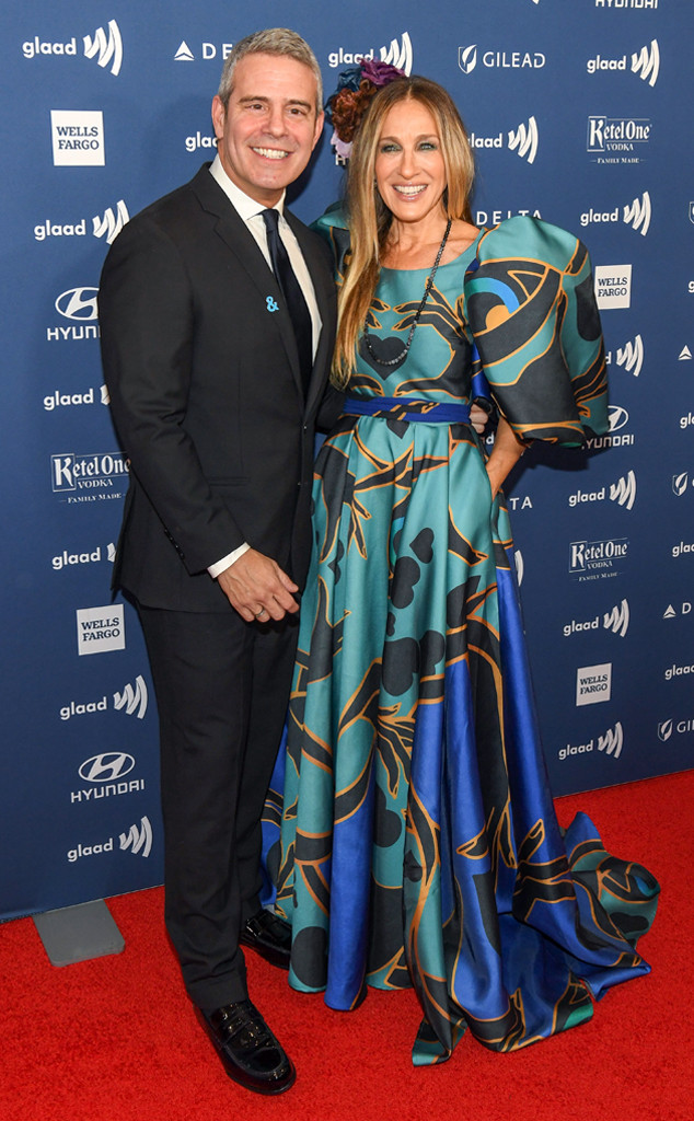 Andy Cohen, Sarah Jessica Parker, 2019 GLAAD Media Awards New York