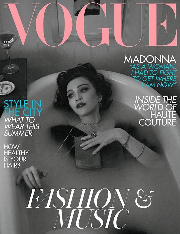 Madonna, British Vogue, June 2019
