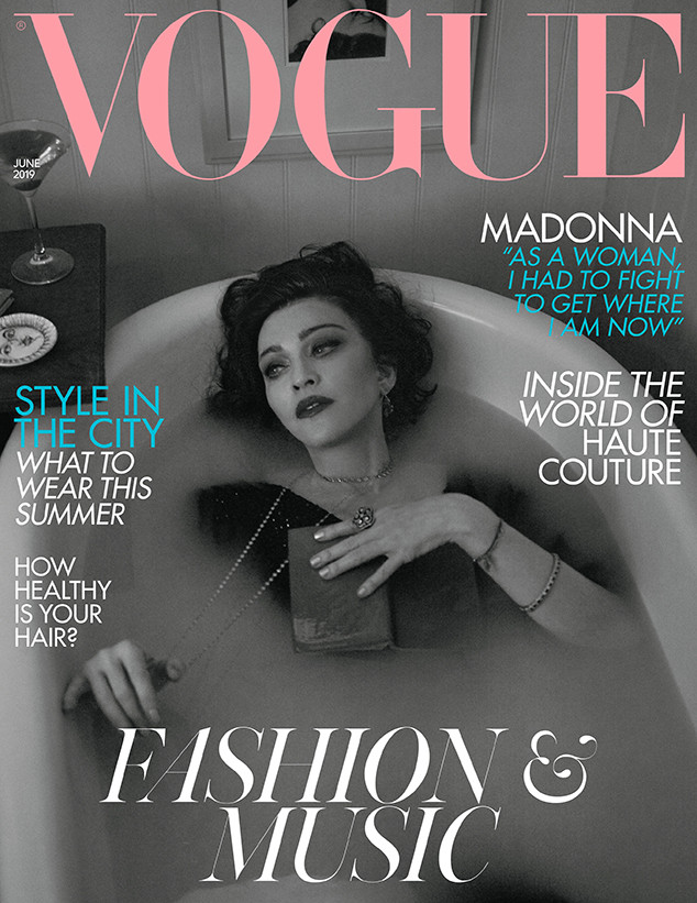 Madonna, British Vogue, June 2019