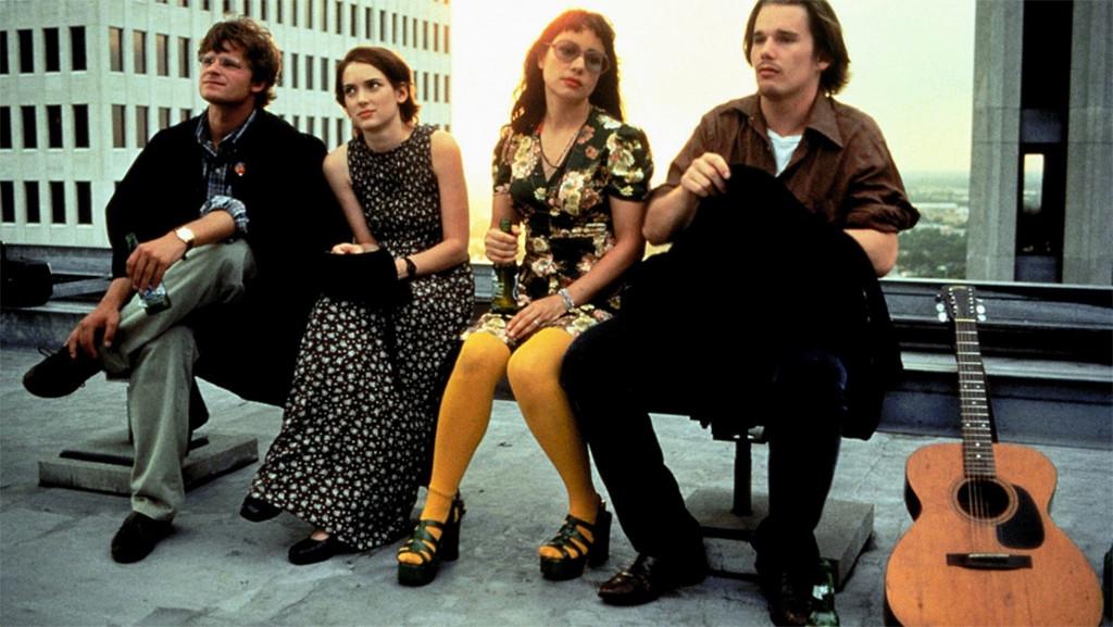Ben Stiller, Winona Ryder, Janeane Garofalo, Ethan Hawke, Reality Bites, 1994