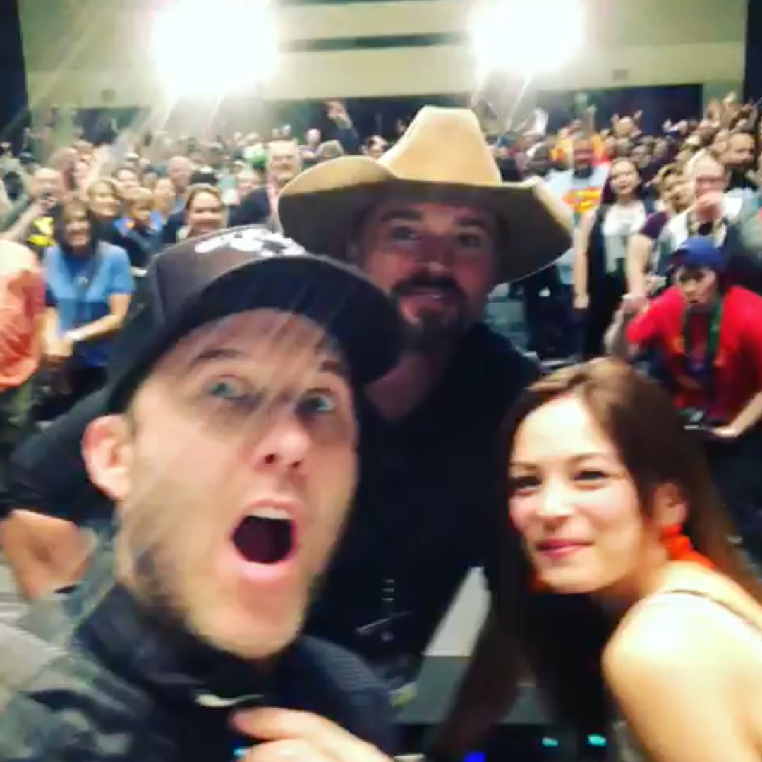 Michael Rosenbaum, Tom Welling, Kristin Kreuk, Reunion, Smallville, Fan Expo Dallas 2019