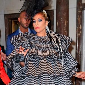 Lady Gaga, pre MET-Gala dinner 2019