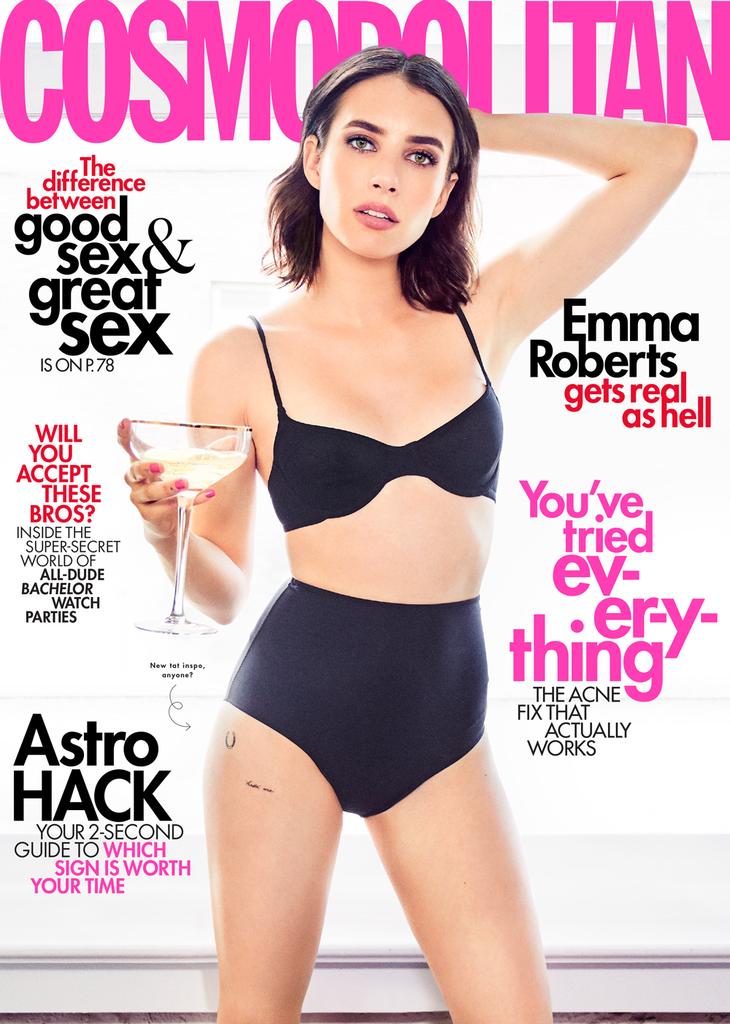 Emma Roberts, Cosmopolitan