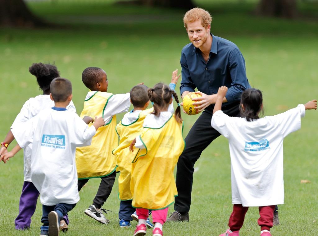 Prince Harry, StreetGames, Kids