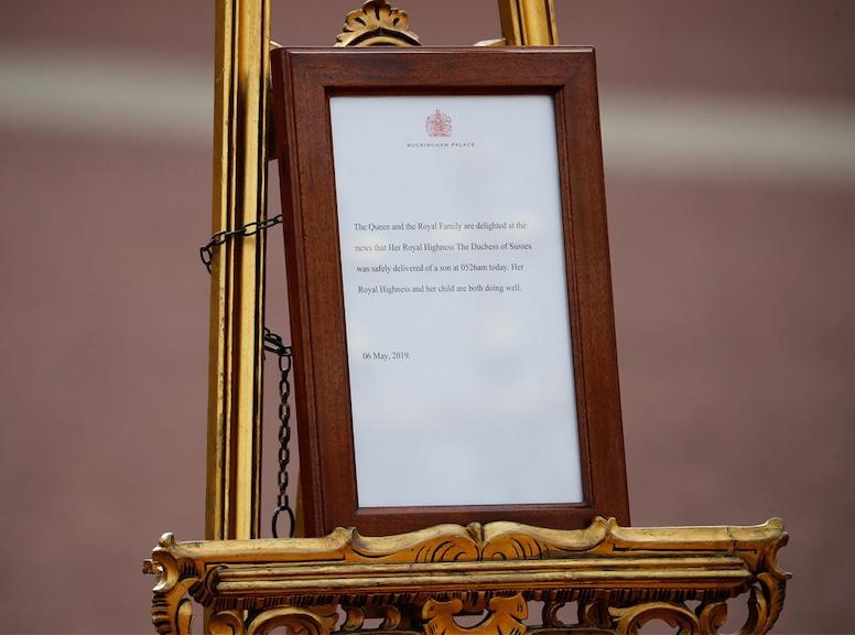 Prince Harry, Meghan Markle, Baby Announcement, Buckingham Palace