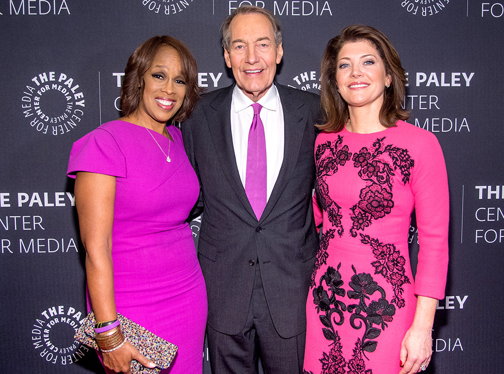Gayle King, Norah O'Donnell, Charlie Rose, CBS This Morning