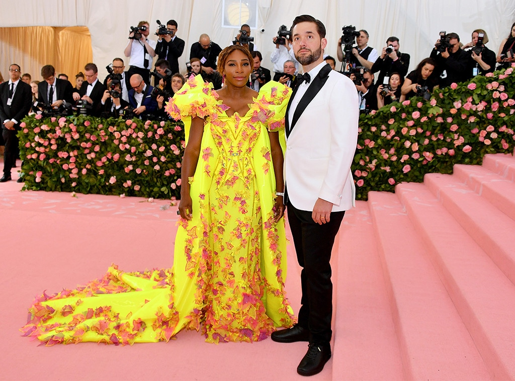 Serena Williams, Alexis Ohanian, 2019 Met Gala, Couples