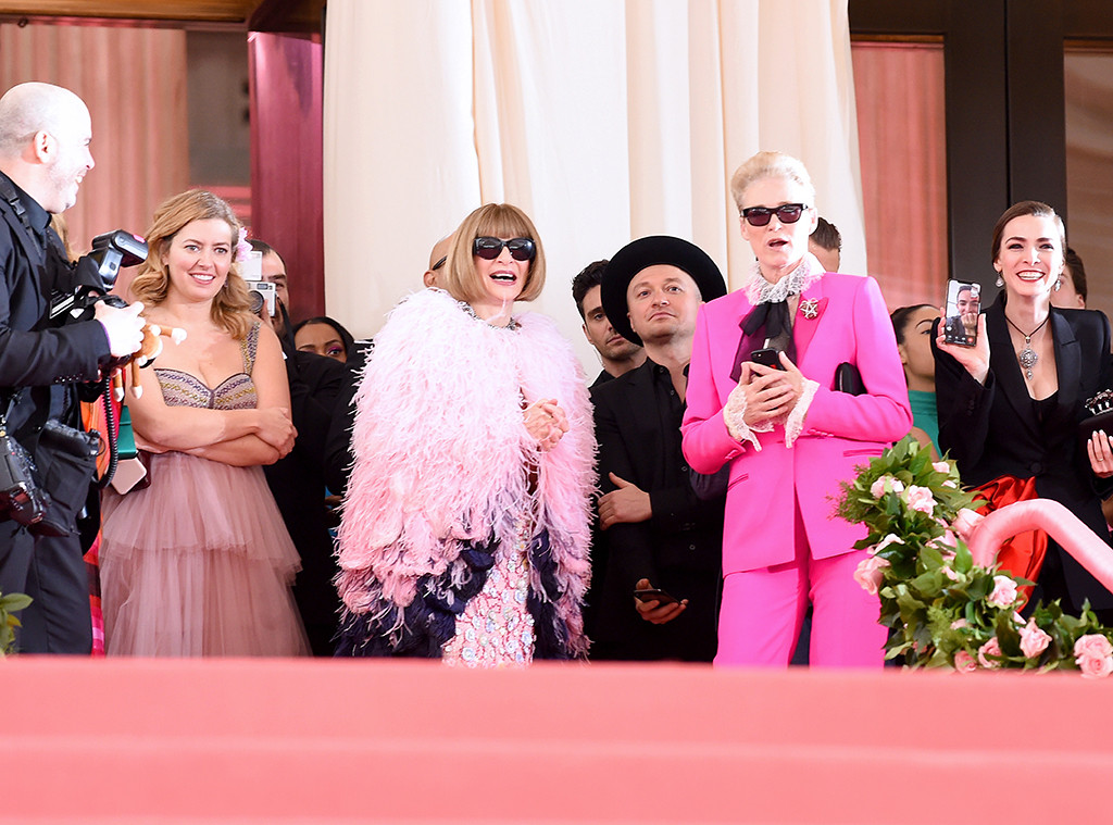 Anna Wintour, Lisa Love, 2019 Met Gala