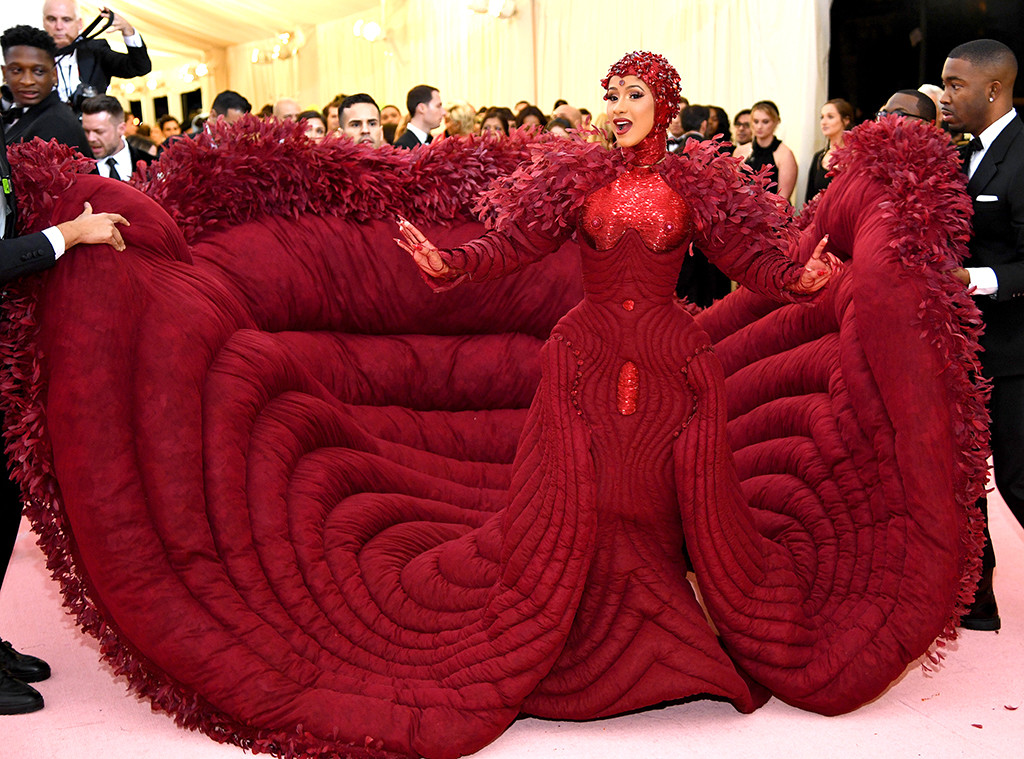 Image result for cardi b met gala 2019