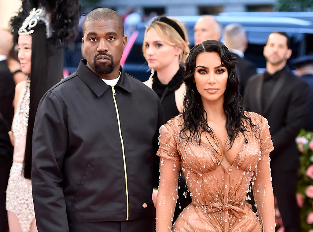 "Kanye West & Kim Kardashian -  The ""Famous"" rapper and the  Keeping Up With the Kardashians  star make a splash at the 2019 Met Gala."