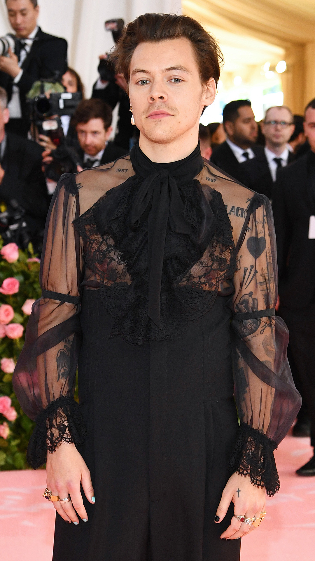 Harry Styles, 2019 Met Gala, Red Carpet Fashions