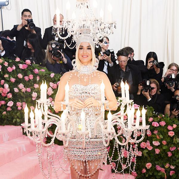 Katy Perry, 2019 Met Gala, Red Carpet Fashions