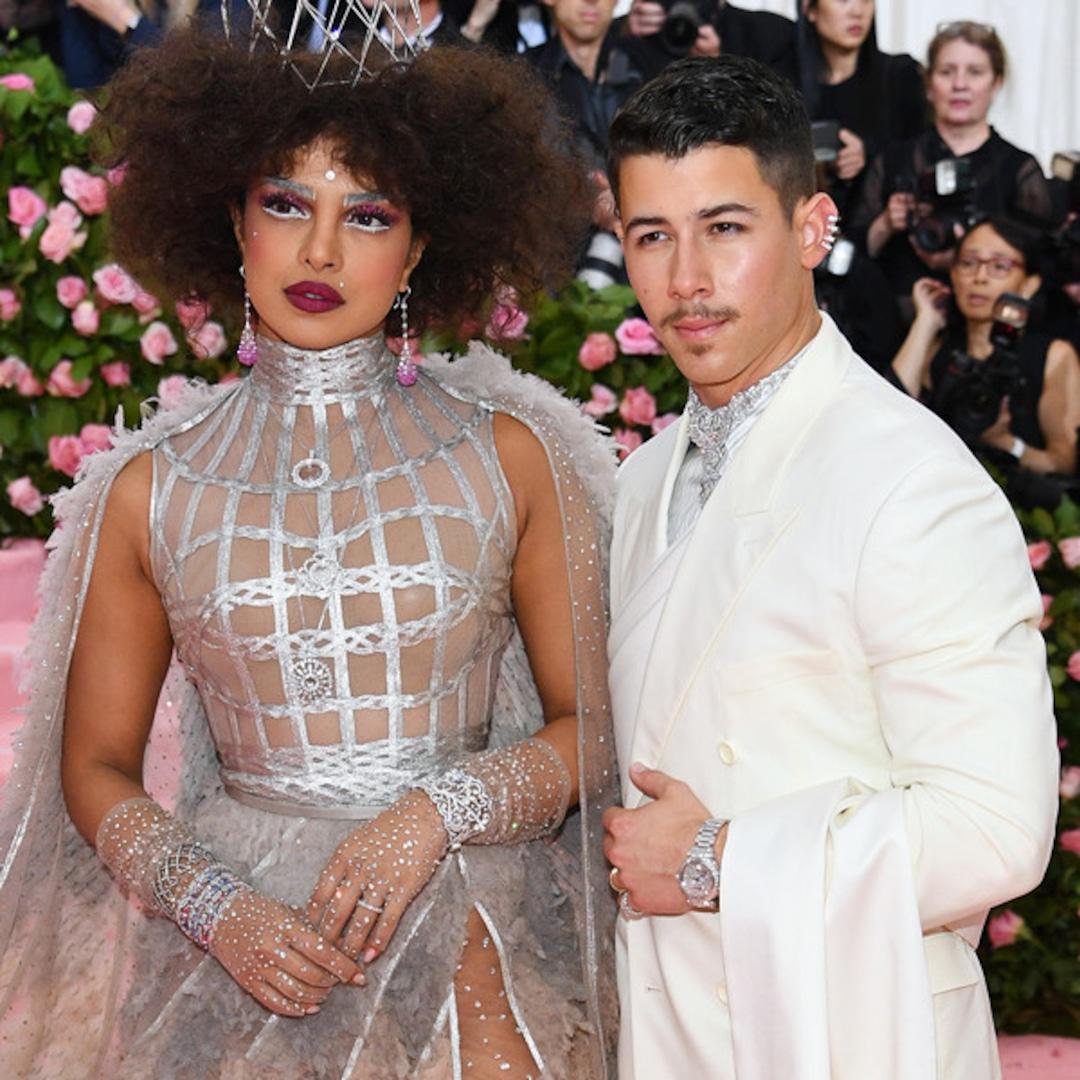 Nick Jonas And Priyanka Chopra S 2019 Met Gala Looks Are
