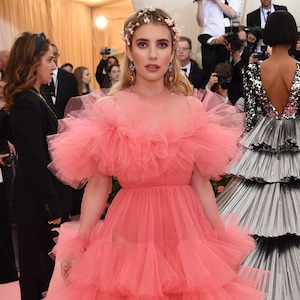 Emma Roberts, 2019 Met Gala, Red Carpet Fashions