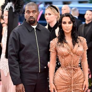 Kanye West, Kim Kardashian West, 2019 Met Gala