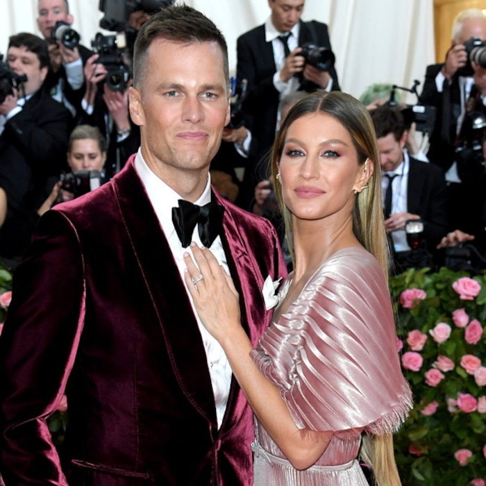 5a7f66f0a0a See How Tom Brady   Gisele Bündchen s 2019 Met Gala Ensembles Compare to  Their Past Looks