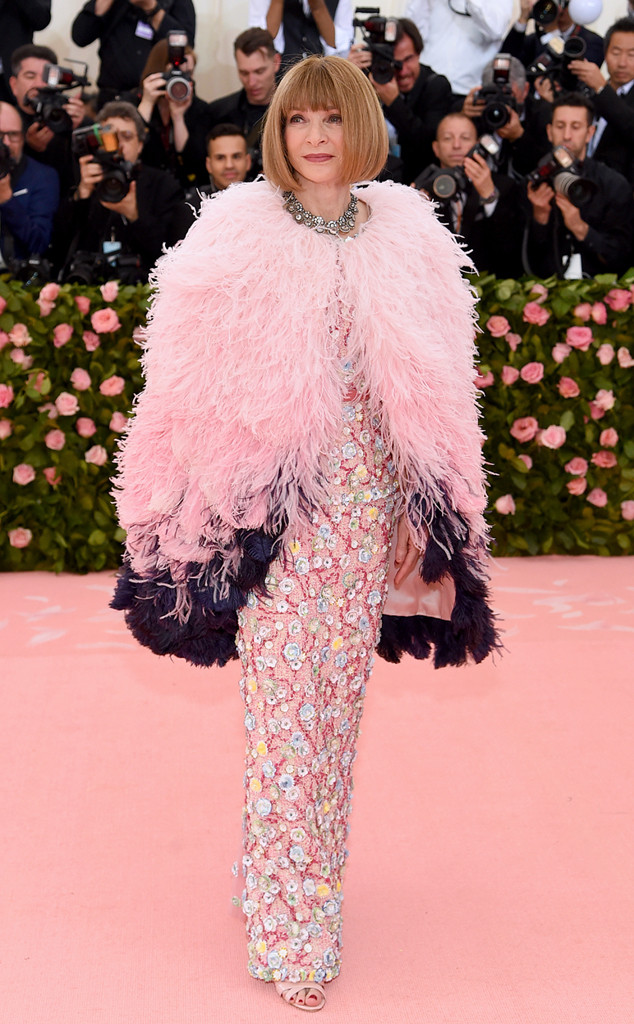 Anna Wintour, 2019 Met Gala, Red Carpet Fashions