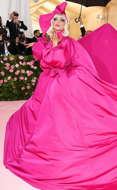 Lady Gaga, 2019 Met Gala, Red Carpet Fashions, Widget