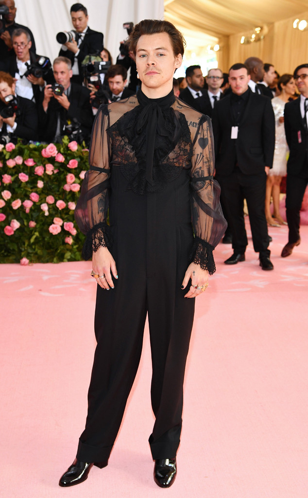 Harry Styles, 2019 Met Gala, Red Carpet Fashions