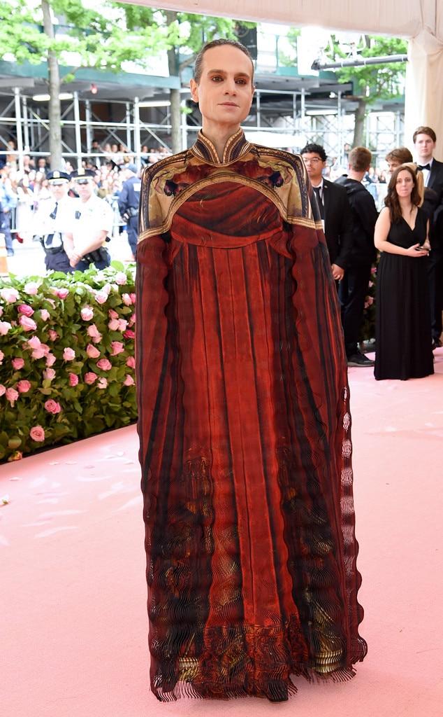 Jordan Roth, 2019 Met Gala, Red Carpet Fashions