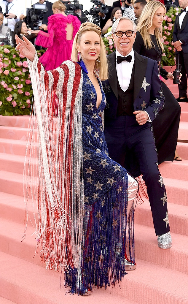 Tommy Hilfiger & Dee Hilfiger -  The fashion designer and his wife go full camp for this year's Met Gala.